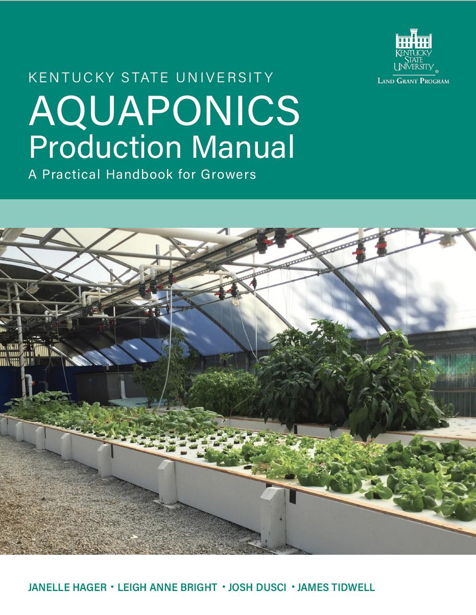 Aquaponics Production Manual front cover